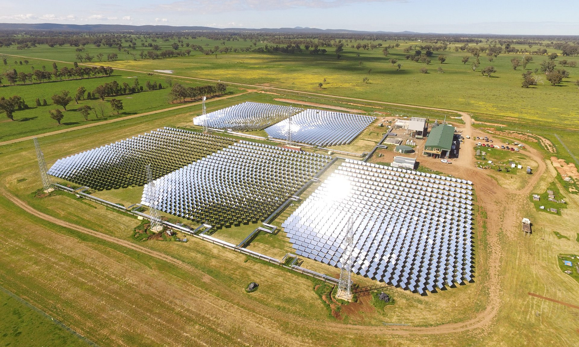 Australia s First Concentrated Solar Thermal Plant Enters Final